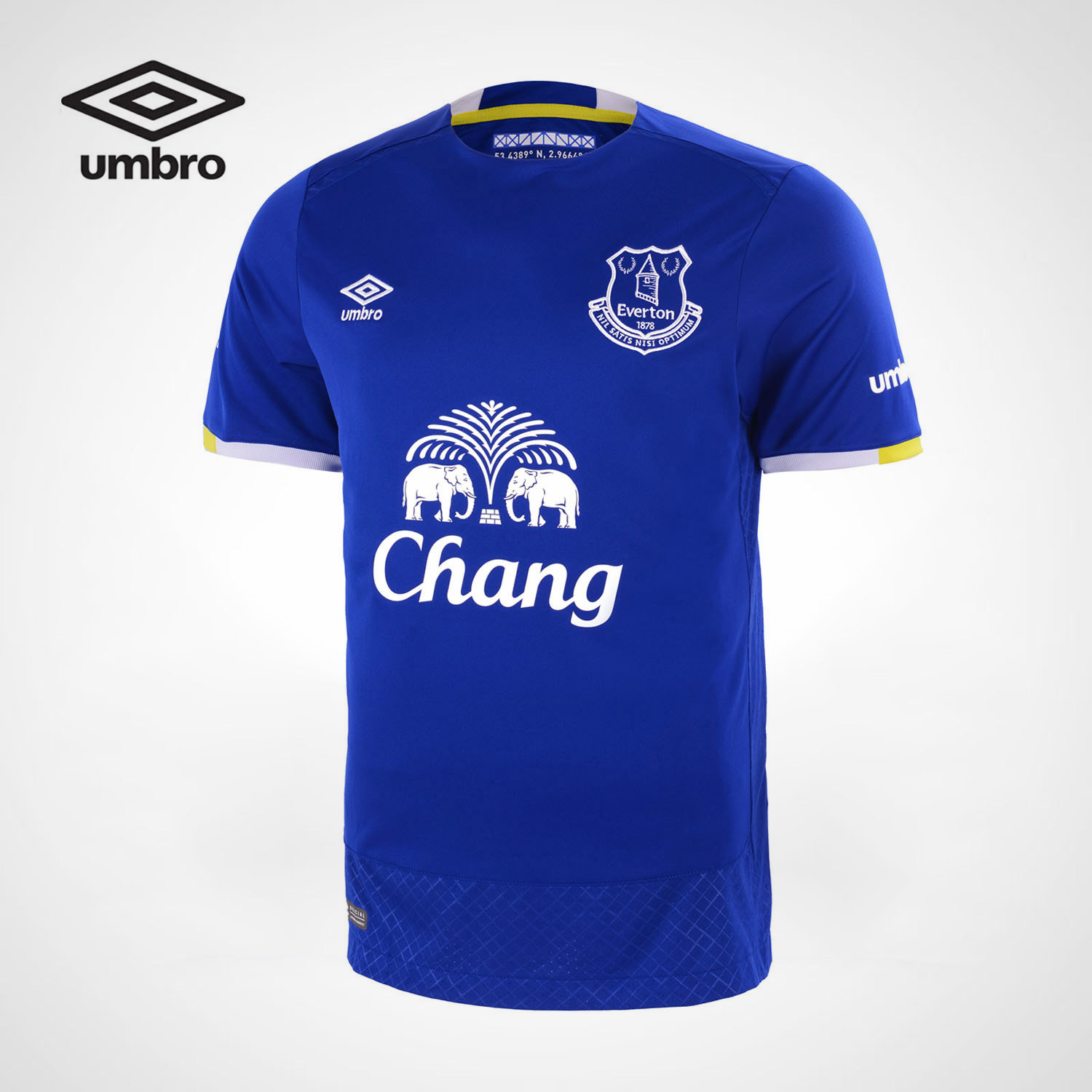 Umbro New Men UFC series men's sports short-sleeved T-shirt Everton Football club training competition clothing shirt UUB63403