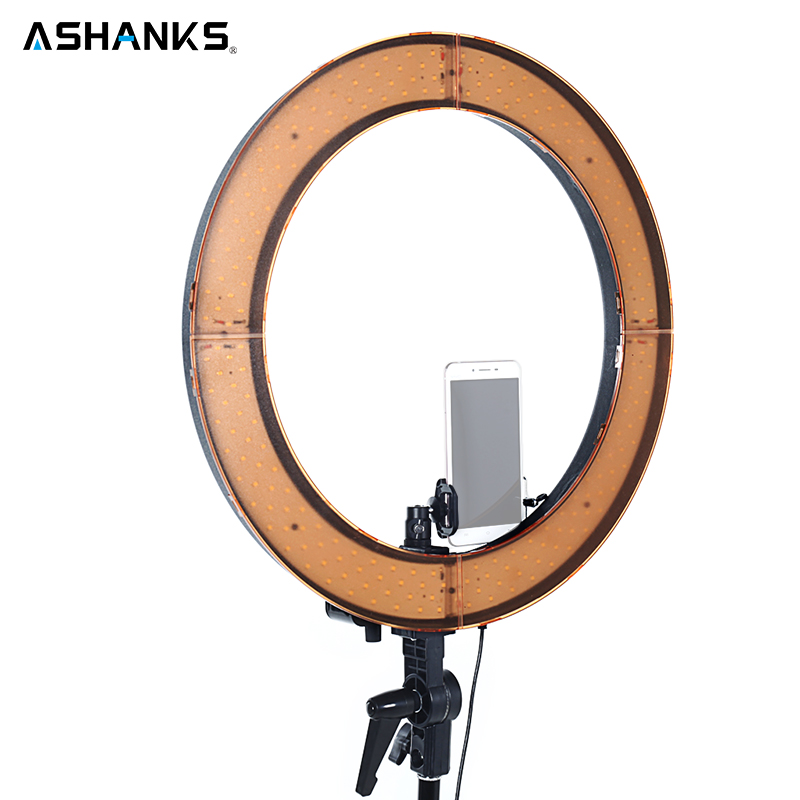 55w 5500k led selfie ring light with light stand photographic lighting dimmable camera photo. Black Bedroom Furniture Sets. Home Design Ideas