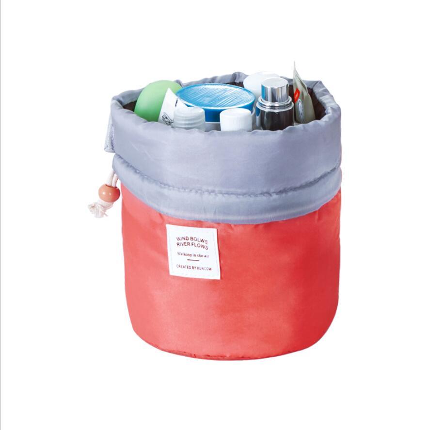 Zylinder Stücke Koreanische 100 2018 Kosmetiktasche Nylon Großhandel Wasserdicht gvw8F7xxq