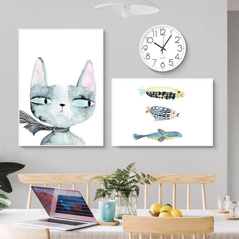 Распродажа Европа Klok часы декоративные вешается на стену простой скандинавский диван фоновые стеновые сборные часы круговая пластиковая ткань - 4