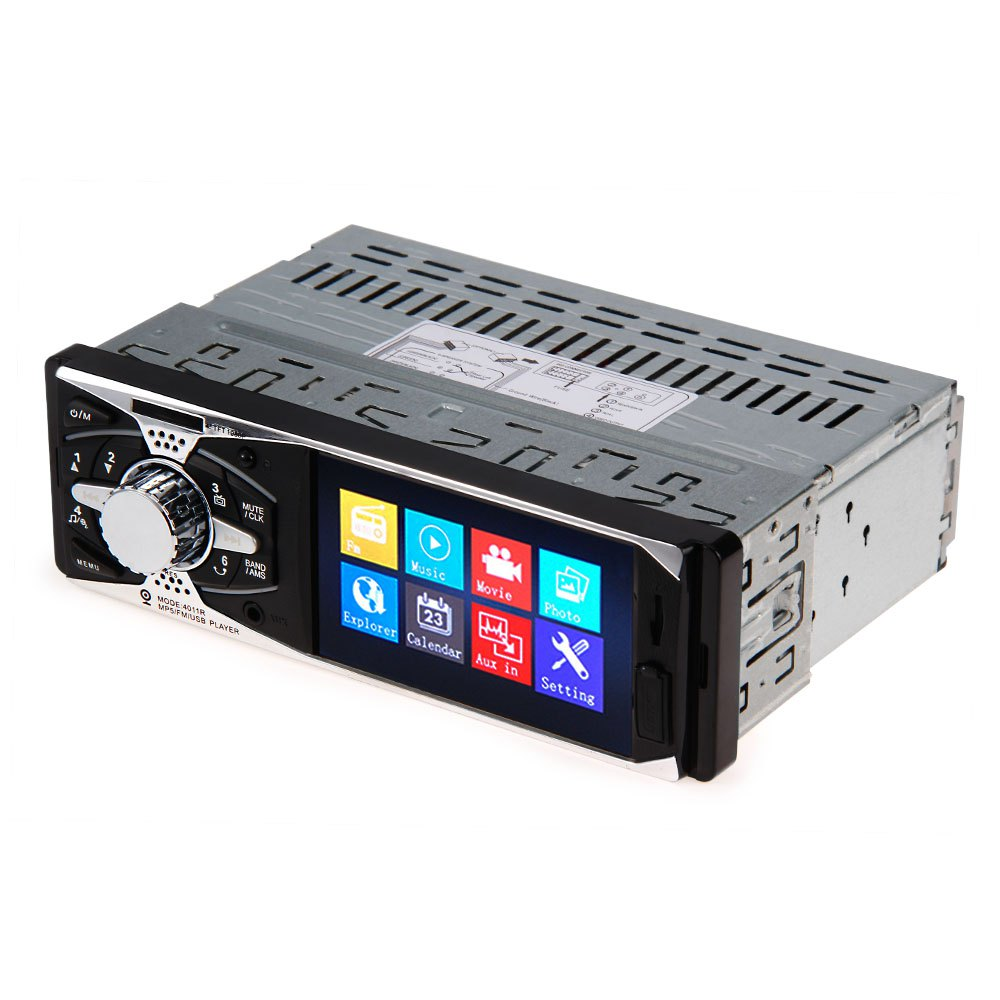 Car Radio Player Support Rear View Camera 4011R 12V MP5 USB SD AUX In Player with