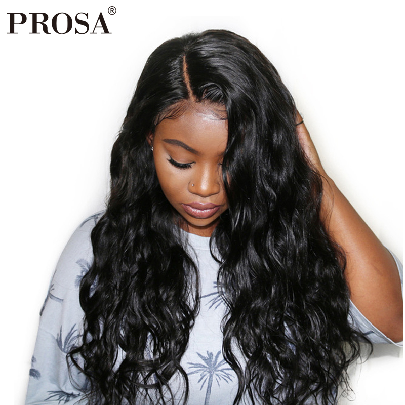 Us 72 1 30 Off Aliexpress Com Buy 130 Density Lace Front Human Hair Wigs For Women Black 13x4 Glueless Lace Front Wig Body Wave Brazilian Lace Wig