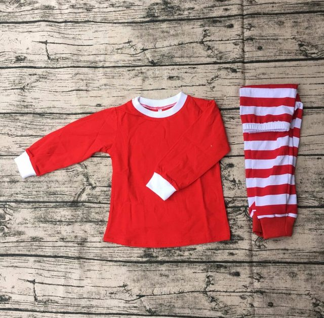 online shop wholesale kids clothing matching christmas pajamas red stripe pajamas unisex cloting sets family christmas pjs aliexpress mobile