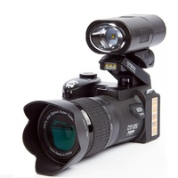 Поло Sharpshots D7200 цифровой Камера 33 млн пикселей автофокусом Профессиональный 24X Оптический зум SLR видео Камера с три объектива