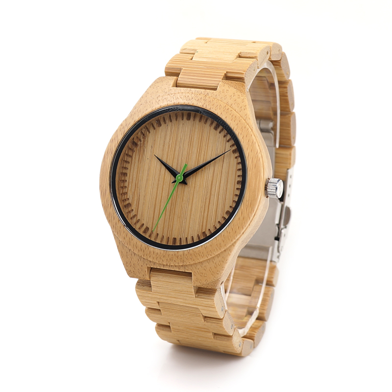 2017 Brand BOBO BIRD Watch Men Handmade Original Bamboo Watches Bamboo Band Wristwatch relogio masculino 2017 luxury watch bobo bird wood watches for men wooden band wristwatch with bamboo box relogio masculino b n07