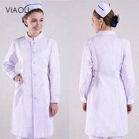 VIAOL Summer women hospital medical scrub New Cheap scrub set design slim fit dental scrub beauty salon nurse spa uniforms