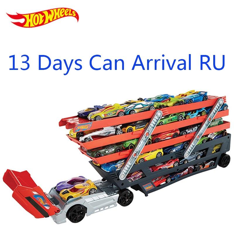 Hot Wheels Heavy Transport Vehicles CKC09 Hotwheels 6 Layer Small Car Toy...