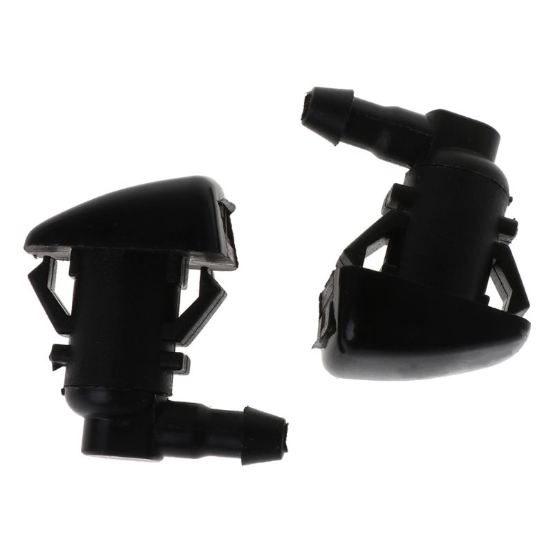 2 Pcs Car Windshield Wiper Spray Jet Washer Nozzle For Ford For Focus 2008 2009 2010 2011 8S4Z17603AA