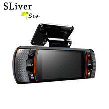 LIVERYSEA Car DVR Dual Camera Car DVR HD 1080P Dash Cam GPS Tracker 2.7 inch Screen Night Vision Camera #B1254