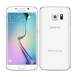 Image 3 - هاتف سامسونج جالاكسي S6 G920F/S6 Edge G925F الأصلي بذاكرة وصول عشوائي 3 جيجابايت وذاكرة قراءة فقط 32 جيجابايت ومعالج ثماني النواة وخاصية التطور طويل الأمد 16 ميجابكسل وشاشة 5.1 بوصات ونظام تشغيل أندرويد