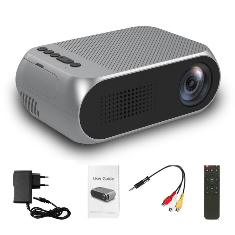 все цены на Video Conference System Mini Projector 1080P HD Home Multimedia Cinema Theater LED LCD Pocket EU Plug