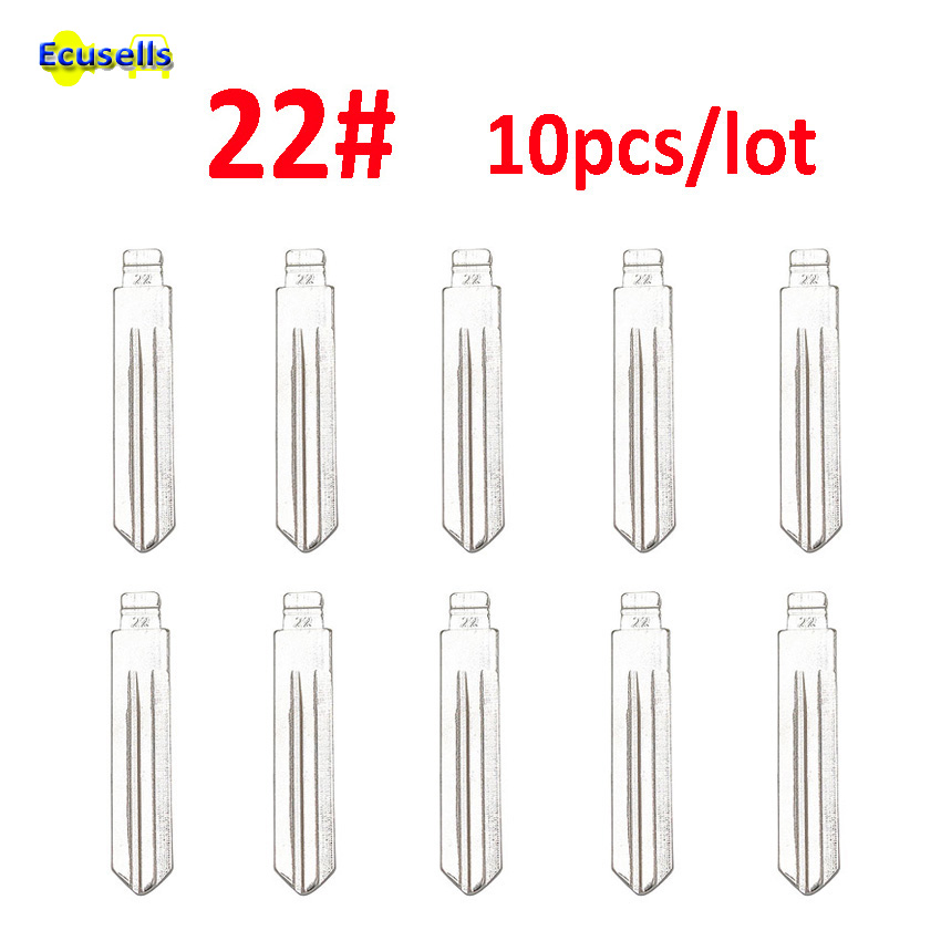 10pcs/lot Uncut blank blade 22# For Nissan A33 Livina