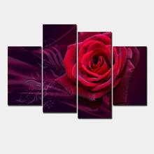 Painting Canvas Art Picture Print for Home Decoration Living Room Photo 4 Panel Gift Decoration Large Canvas Art Cheap jjk189(China)
