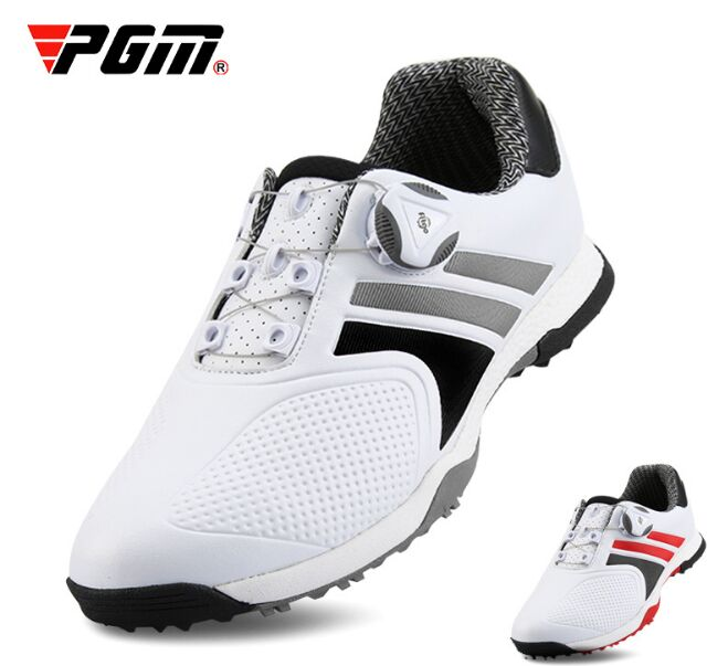 PGM Golf Mens Waterproof Sports Shoes Rotary Button Mens Shoes Golf shoesPGM Golf Mens Waterproof Sports Shoes Rotary Button Mens Shoes Golf shoes