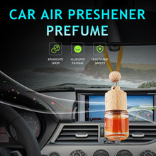 Hanging Car Air Freshener in Car Ocean Perfume New Car Scent Bottle Fragrance Automobile Outlet usded for Car Home Gift(China)