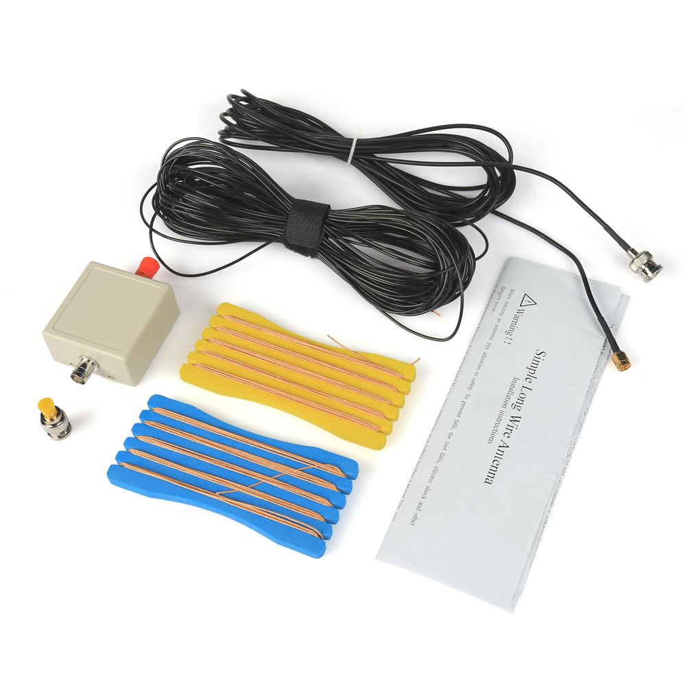 LW1650 Simple Long Portable Wire 1.6-50MHz HF Antenna for RTL-SDR USB Tuner Receiver ConnectorLW1650 Simple Long Portable Wire 1.6-50MHz HF Antenna for RTL-SDR USB Tuner Receiver Connector