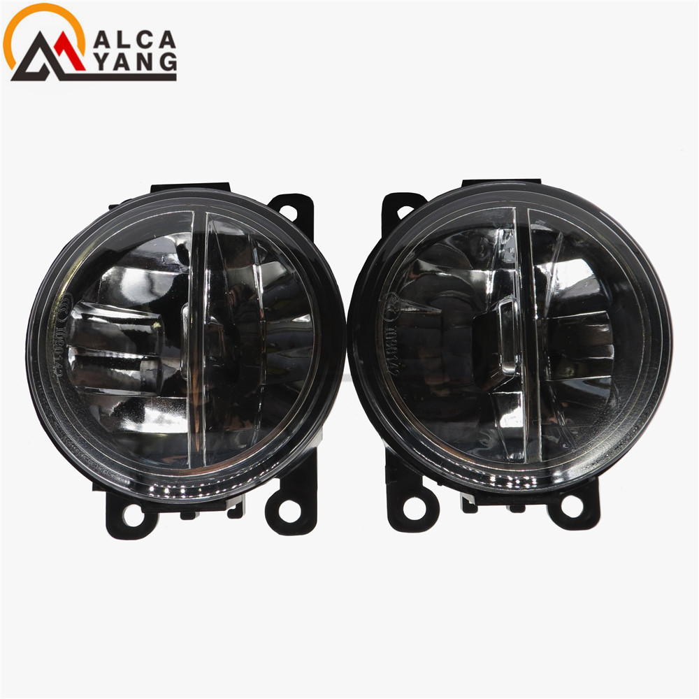 Malcayang For Jaguar S-Type X-TYPE XK 1999-2013 Car-styling LED fog lamps10W high brightness lights 1set for lexus rx gyl1 ggl15 agl10 450h awd 350 awd 2008 2013 car styling led fog lights high brightness fog lamps 1set