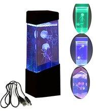 Electric Jellyfish Tank Aquarium Color Changing Mood Lamp