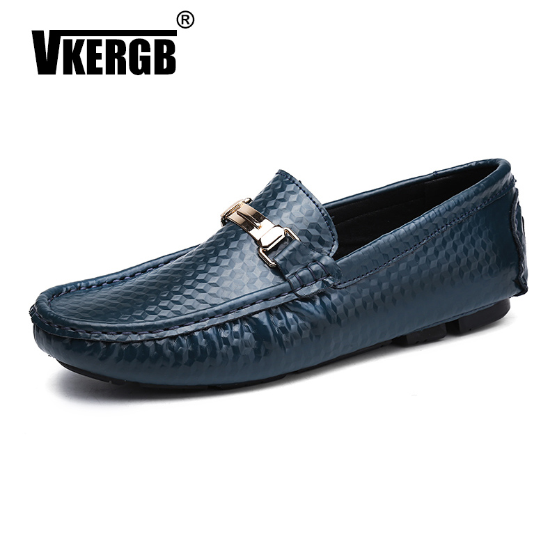 Men Loafers Classic British Casual High Quality PU Comfortable Peas Shoes Driving Male Adult Lazy Slip on