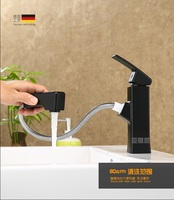Pull type copper faucet Basin