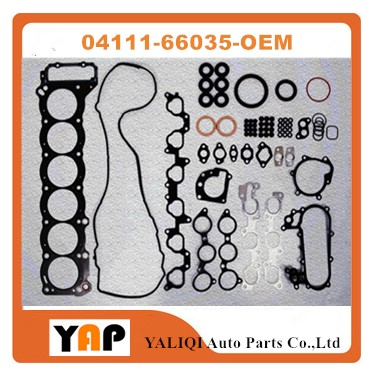 Overhaul Gasket Kit Engine FOR FITToyota Land Cruiser 4500 Lexus LX450 FZJ80 1FZFE 4.5L L6 24V 04111-66035 Efi type 1990-2002