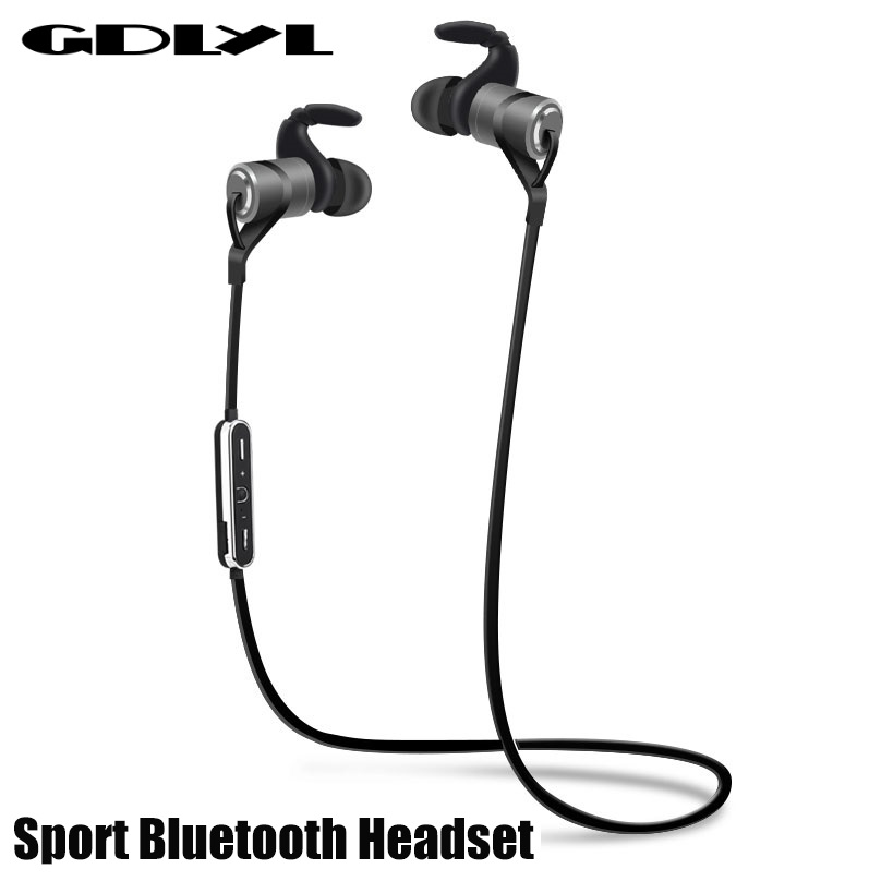 100% Original Sports Bluetooth Headset, Wireless 4.1 Music Sport Earbuds fashion Earphones With Microphone Auriculares