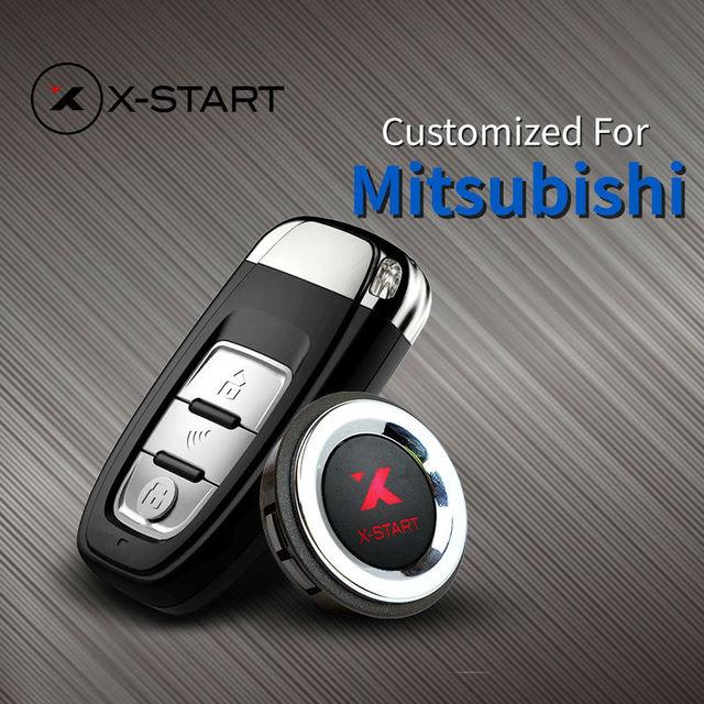 X Start Keyless Entry Remote Button Start Car Alarm For Mitsubishi