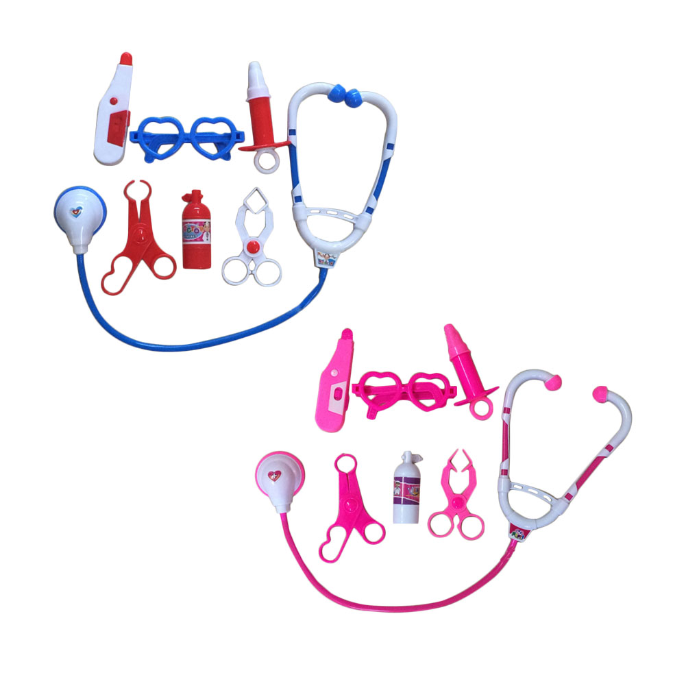 Kids Educational Pretend Doctor Role Play Medical Kit Simulation Toy Set Gift