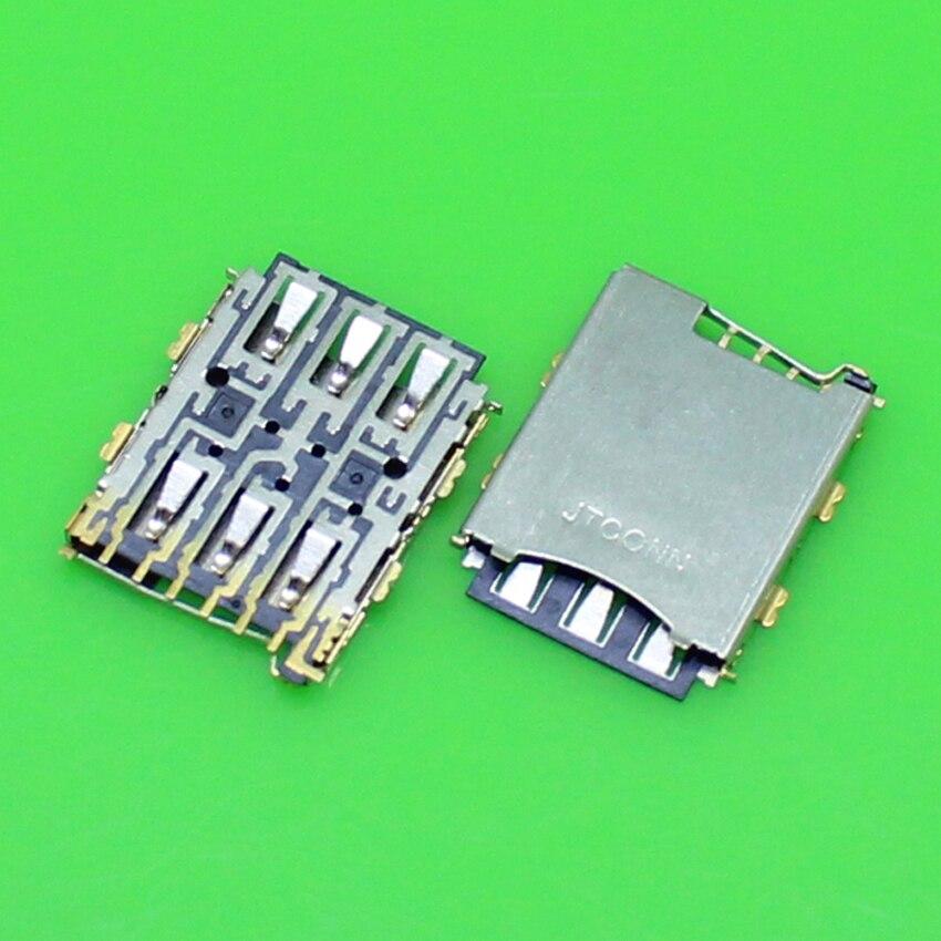 US $0 37 15% OFF|ChengHaoRan 1 Piece Best price for HTC 826 D826W D826T  D826D 610 618 sim card reader holder socket tray slot module KA 219-in SIM
