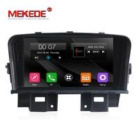 7 дюймов 2din Самая низкая цена MEKEDE авто радио Автомобильный gps dvd плеер для chevrolet cruze 2012 2008 Поддержка bluetooth Радио dvd FM