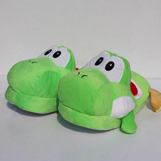 8136b49ac22af Livraison gratuite Vert yoshi pantoufle pantoufles Yoshi Super Mario Yoshi  11