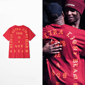 TEMPORADA 3 camisa dos homens t yeezus KANYE WEST YEEZY hip hop camisetas homens moda street wear t dos homens plus size 3XL
