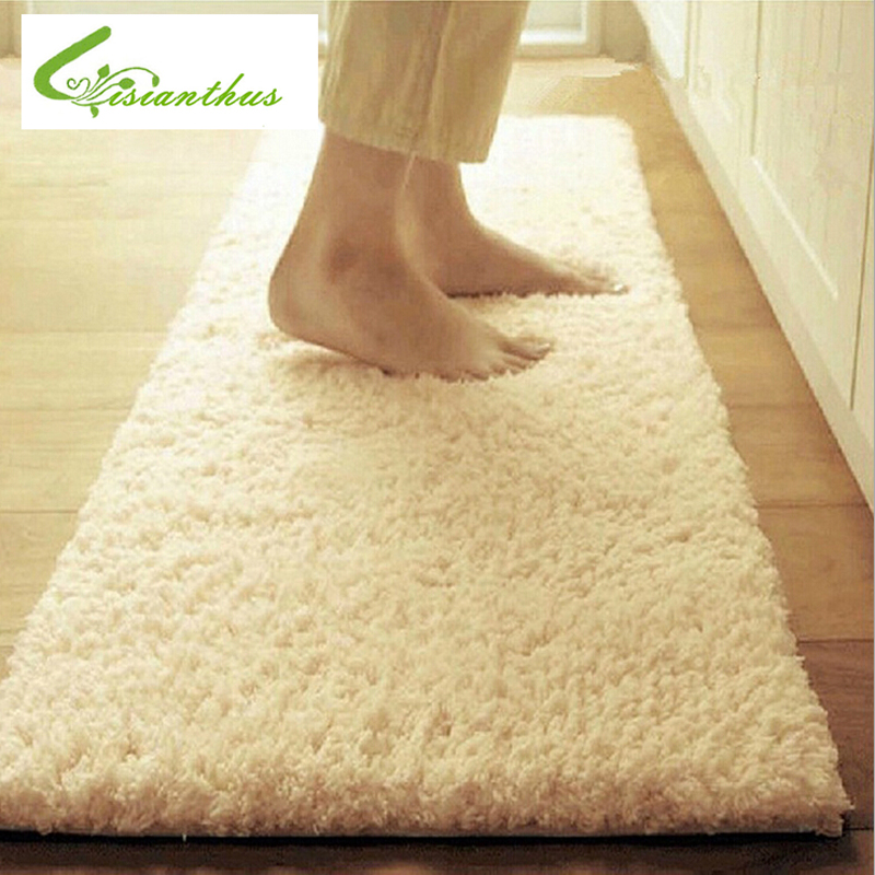 50*160cm Large Size Plush Shaggy Soft Carpet Area Rugs Slip Resistant Floor Mats for Parlor Living Room Bedroom Home Supplies image