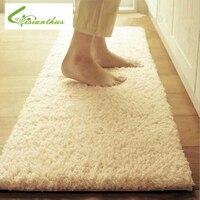 50*160cm grande tamanho de pelúcia shaggy tapete macio tapetes área deslizamento resistente tapetes para sala estar quarto casa suprimentos