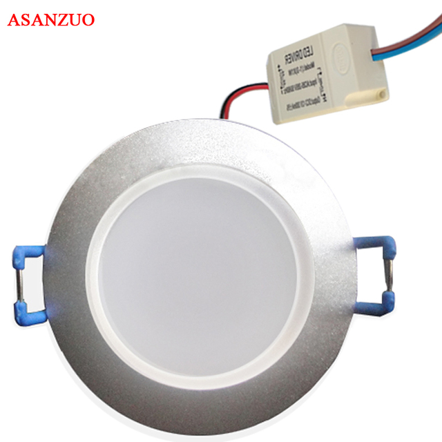 Mini LED downlight 3 Watt 5 Watt (loch: 60mm) LED Decke Unten ...