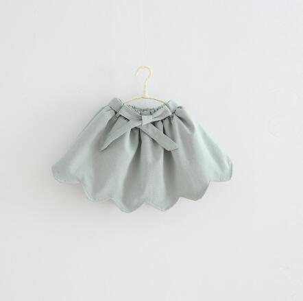 Everweekend Girls Ruffles Skirts Tied Bowknow Irregular Kids Girls Ruffles Skirt