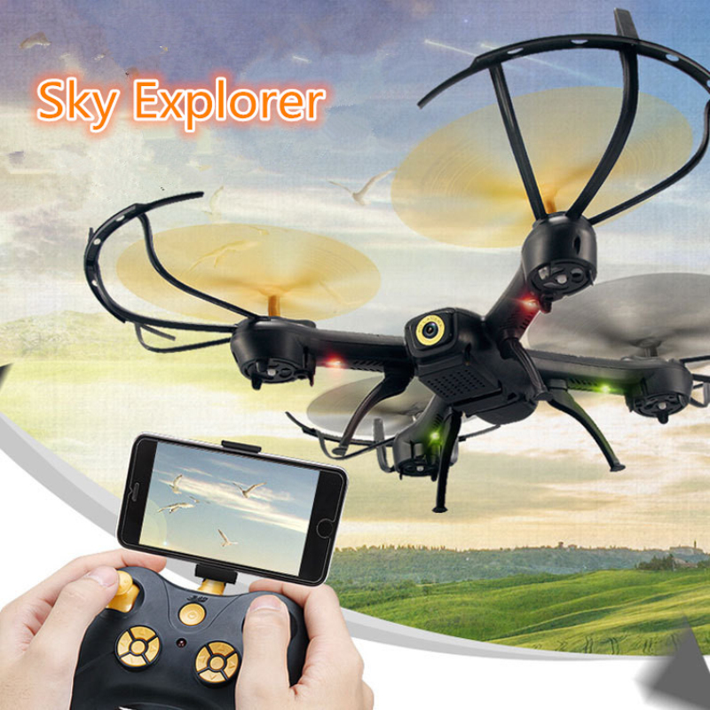 New Set attitude hold aerial Rc Drone D61-WG Remote Control Helicopter Quadcopter 6-Axis Gyro Wifi FPV HD Camera VS X400/X5SW syma x5hw rc helicopter 2 4ghz 4ch 6 axis gyro aircraft drone with 0 3mp fpv wifi camera remote control quadcopter gift toys