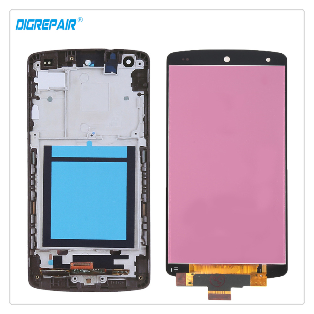 AAA Black For LG Google Nexus 5 D820 D821 LCD Display Touch Screen Digitizer Full Assembly