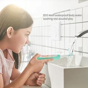 Image 5 - SOOCAS سونيك فرشاة أسنان كهربائية للأطفال IPX7 مقاوم للماء الأطفال فرشاة الأسنان فرشاة الأسنان الكهربائية القابلة لإعادة الشحن 2 وضع التنظيف