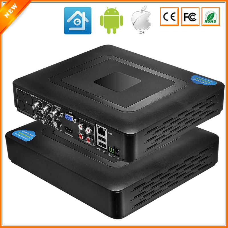 960 H H.264 VGA HDMI Keamanan 4CH 8CH CCTV DVR 4 Channel Mini DVR CCTV DVR 8 Channel 960 H 15fps DVR RS485 PTZ Untuk Analog kamera