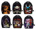 Five Nights At Freddys Backpack FNAF Chica Foxy Bonnie Mangle Children School Bags Chica Backpacks Boys Girls Kindergarten Bag