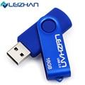 LEIZHAN USB Pendrive Флэш-Накопитель 64 Г 32 Г 16 Г 8 Г USB 2.0 Флэш-Накопитель 4 Г Pen Drive Индивидуальные U Stick Красочные U диск