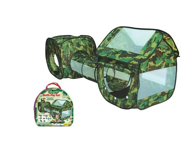 camuflaje de la alta calidad del ejrcito del juego de nios exterior carpas nios largo tnel