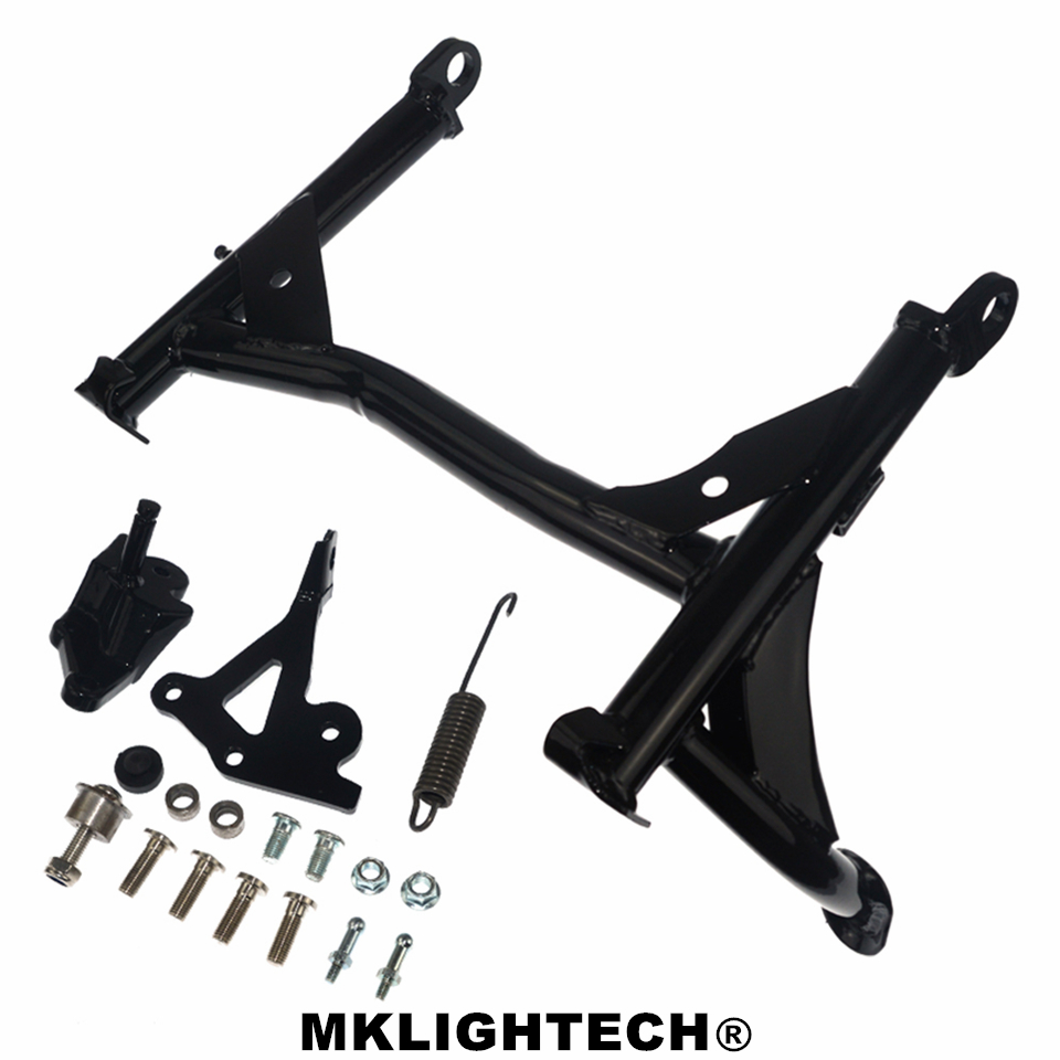 For KAWASAKI Z900RS Z900 RS Z 900RS 2017+ Motorcycle Middle Kickstand Foot Kick Stand Motorcycle Body Support Lift Up Bracket