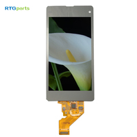 RTGparts IPS LCD Touch Screen Digitizer Assembly For Sony Xperia Z1 Mini Compact Z1c M51w D5503