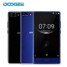 Doogee Mix 4 г LTE смартфон 5.5 дюймов Android 7.0 nougat helio P25 Octa core 4 + 64 отпечатков пальцев 2 сзади камеры мобильного сотового телефона