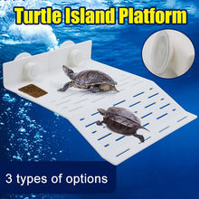 2019 Hot Turtle Island Platform Aquarium Reptile Hollow Dock Floating Aquarium Decor FPing(China)
