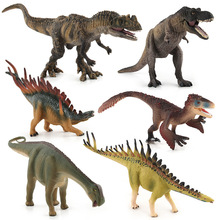jurassic park dinosaur toys for children boys japanese anime dolls model kit action figure set dragon Toy & hobbies