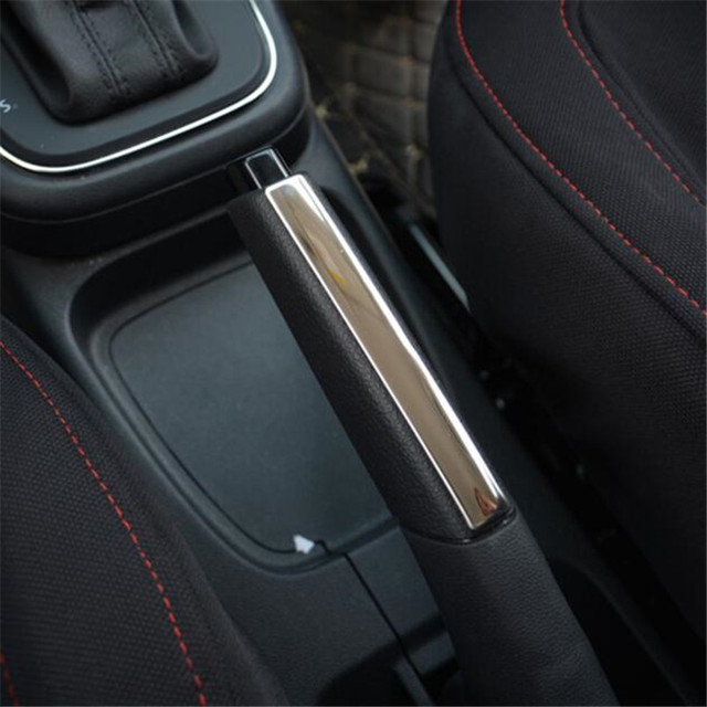 Car Styling Stainless Steel Modified Decorative Hand Brake Cover Trim Sticker Case For Volkswagen Vw