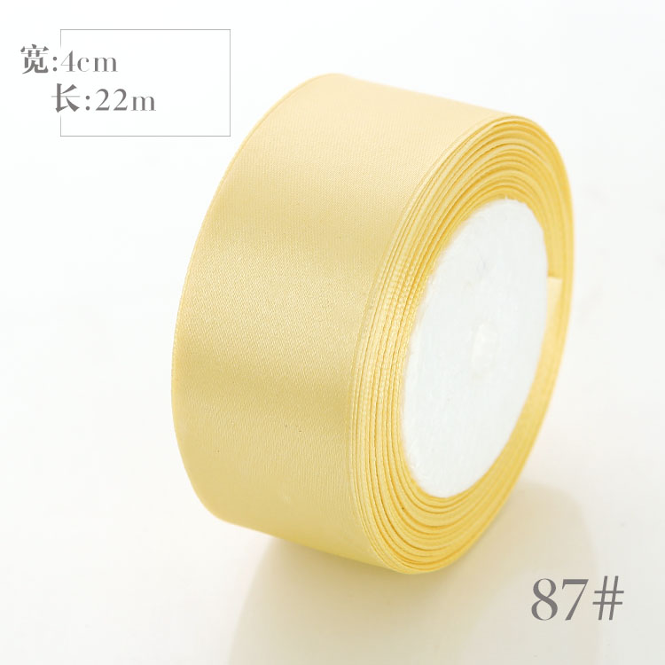 6mm 10mm 15mm 20mm 25mm 40mm 50mm Satin Ribbons White Pink Red Blue Purple Green Black Yellow Orange Ribbons 34 Colors Pick Up